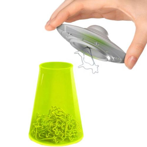 Filing (Flying) Saucer UFO Paper Clip Holder