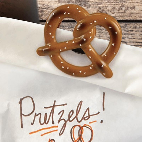 Beer Pretzel Bottle Opener + Chip Clip