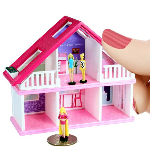World/'s Smallest GLO WORM Mini Doll House Barbie 1980 Retro Toy Glow LIGHTS UP