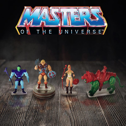 Worlds Smallest Masters of The Universe Micro Action Figures