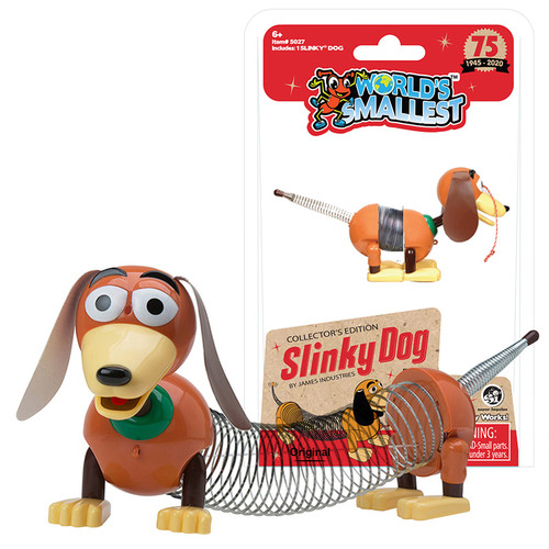 World's Smallest Collector's Edition Slinky Dog