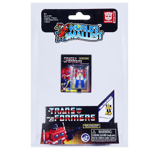 World's Smallest Transformer Micro Action Figures