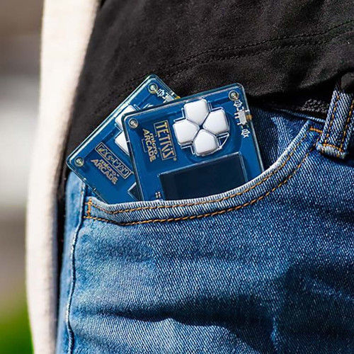 Tetris Micro Arcade Pocket Sized
