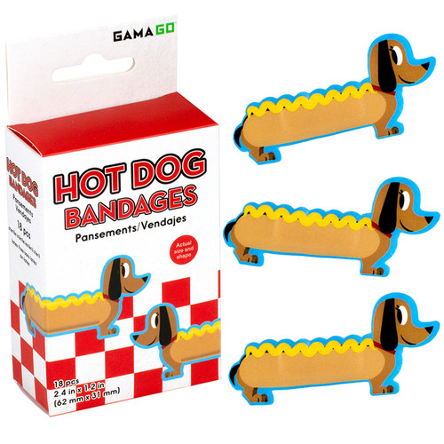 Hot Dog Bandages