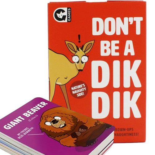 Don't Be A Dik Dik Card Game