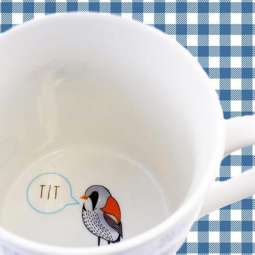 Fowl Language Mug - Tit bird