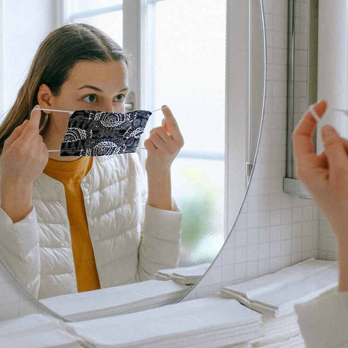 Pretty Pleated Face Mask