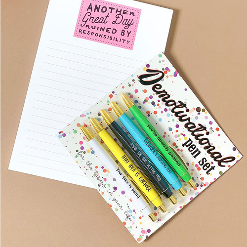 Demotivational Pen Set