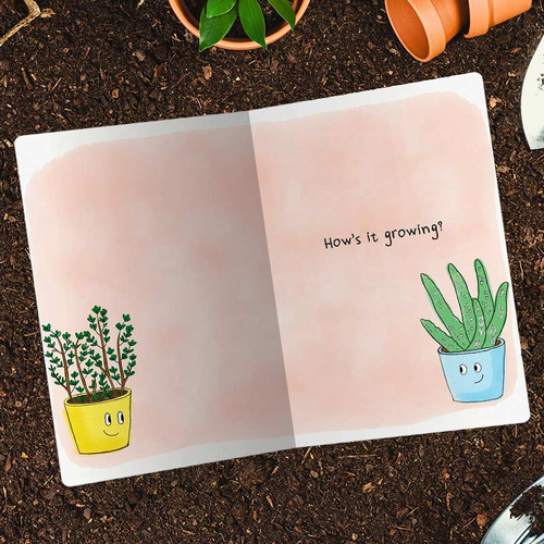Aloe! Long Thyme No See! Friendship Greeting Card