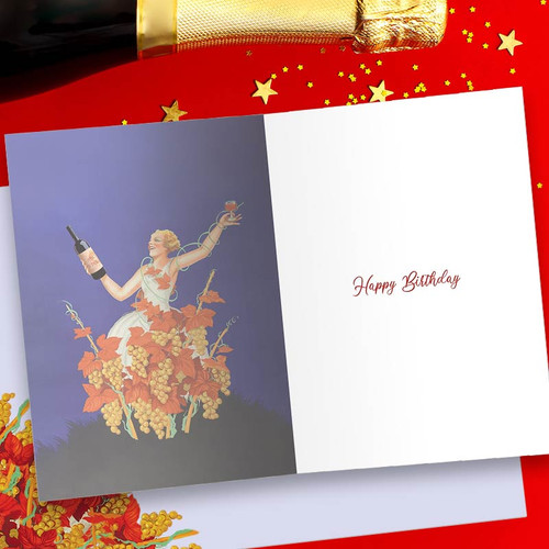 Celebrating Your New Vintage Status Funny Happy Birthday Card