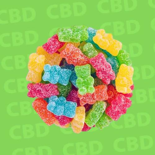 Neon CBD Gummy Bears