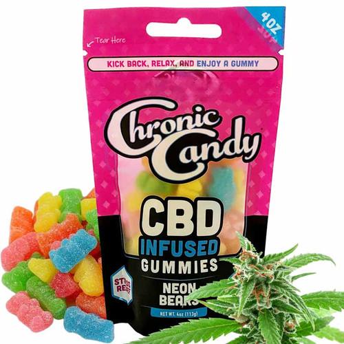 Neon CBD Gummy Bears - Buy Online