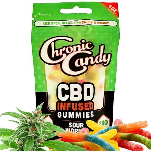 Sour CBD Gummy Worms