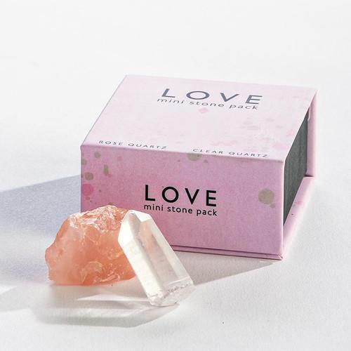 Quartz Crystals Love Mini Stone Pack