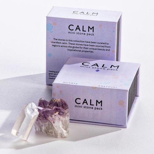 Calm Mini Quartz + Amethyst Gift Set