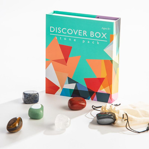 Discover Box:  Crystals Healing Stone Gift Pack