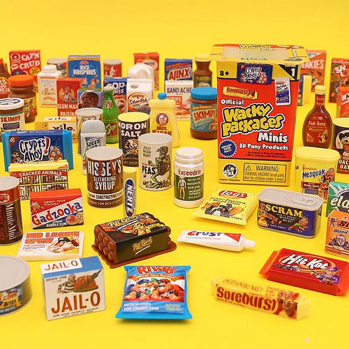 Collect Wacky Packages Mini Blind Box