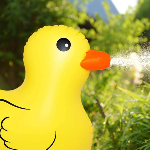 Kids Outdoor Sprinkler Quackers Duck
