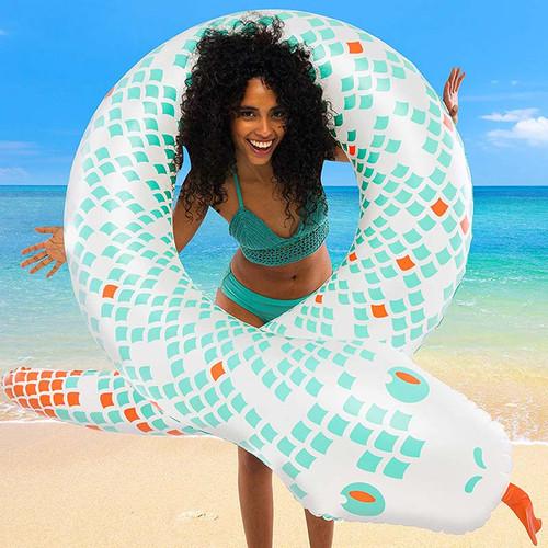 The Best Snake Pool + Beach Float
