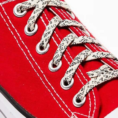 Bibliophile Gift Shoelaces