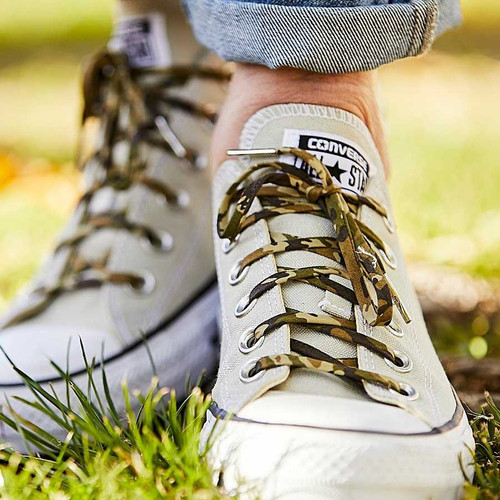 Camouflage Shoelaces - Buy Online