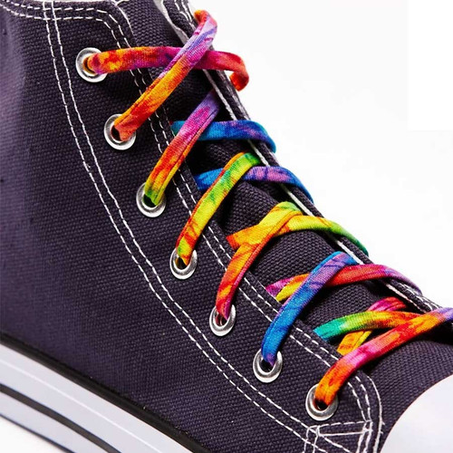 Dress up your sneakers with Tie Dye Shoelaces