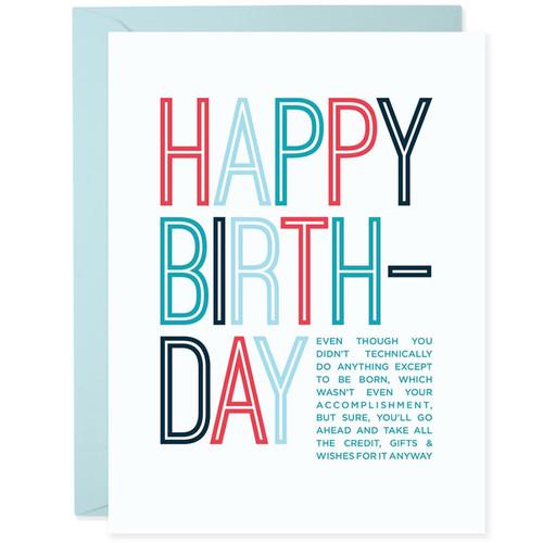 Happy Birthday Mooch Card