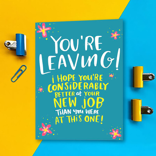 Funny Greeting Card for a New Job