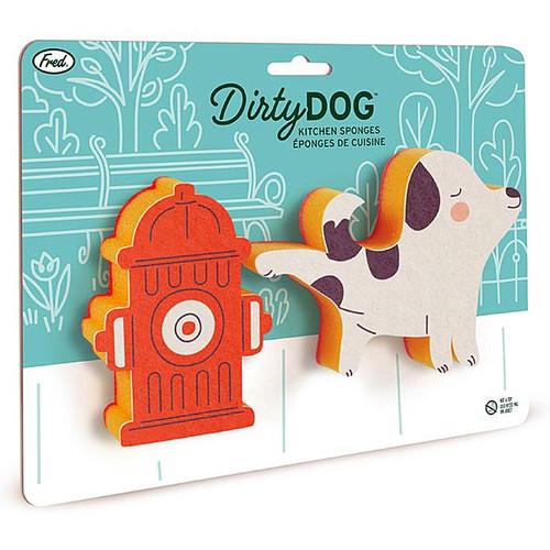 Fred's Dirty Dog Dish Sponge Set