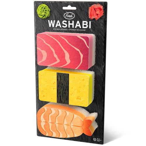 Fred Washabi Sponges