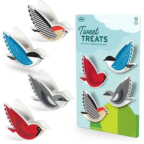 Fred Tweet Treats Bag Clips Birds