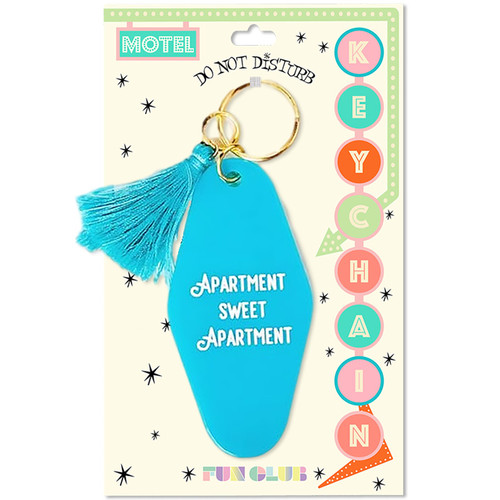 Motel Keychain - Apartment Sweet Apartment