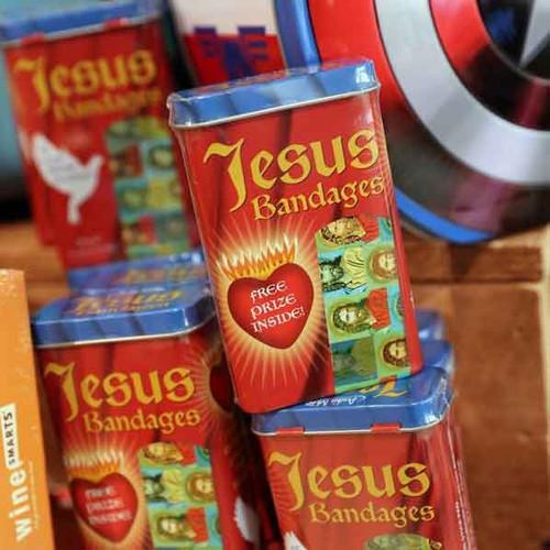 Jesus Bandages make a great stocking stuffer!
