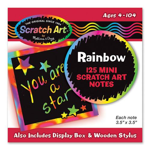 RAINBOW SCRATCH ART NOTES