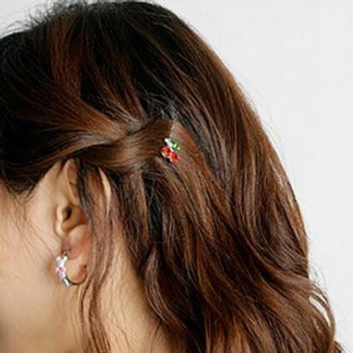Cherry Hairpins