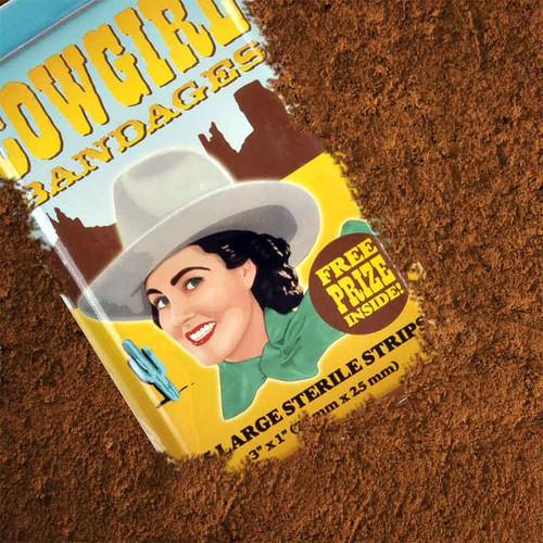 Cowgirl Bandages Make A Fun Gift