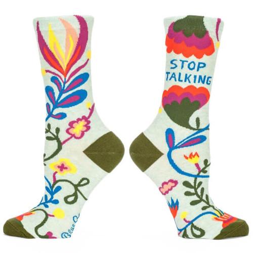 STOP TALKING WOMEN'S CREW SOCK