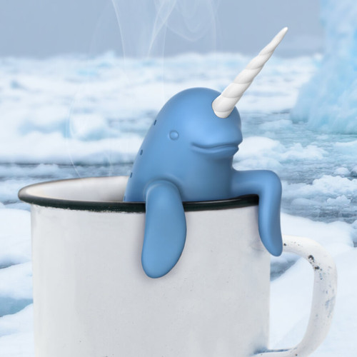 SPIKED TEA NARWHAL TEA INFUSER