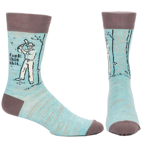 SOCKS THAT SAY WHAT WE'RE ALL THINKING
