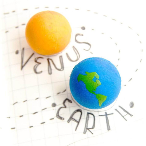 VENUS AND EARTH ERASERS