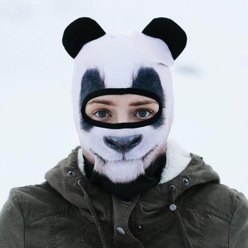 BEARDO GIANT SNOW LOVING PANDA WINTER SNOW MASK