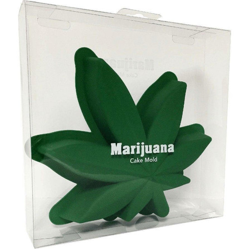 Marijuana Leaf Cake Mold