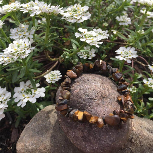 Genuine Tiger's Eye Courage Crystal Bracelet