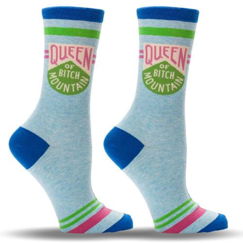Queen Of Bitch Mountain Socks