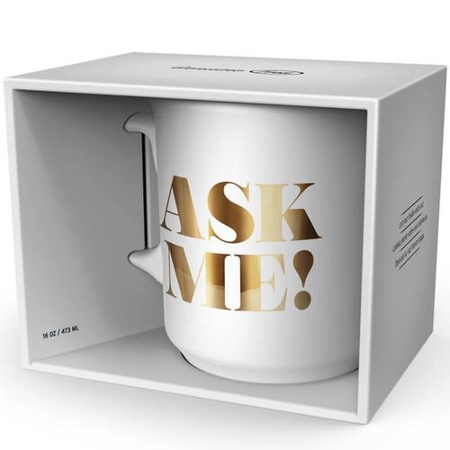 Ask Me And I'll Ask The Internet Mug