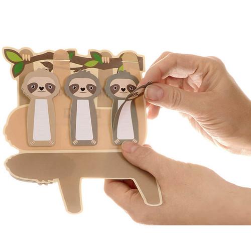 Sticky Sweet Sloth Memo Tabs Set