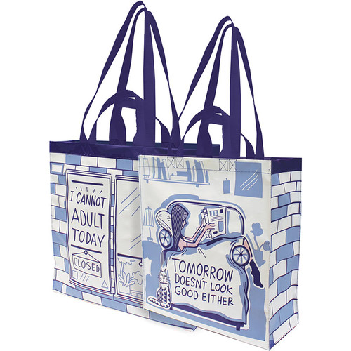 I Cannot Adult Today Daily Tote