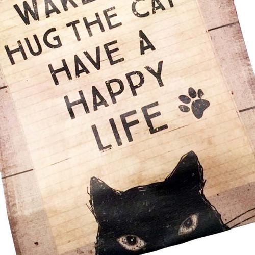 Wake Up + Hug The Cat
