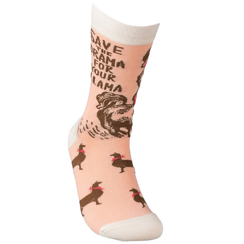 Save The Drama For Your Llama Socks