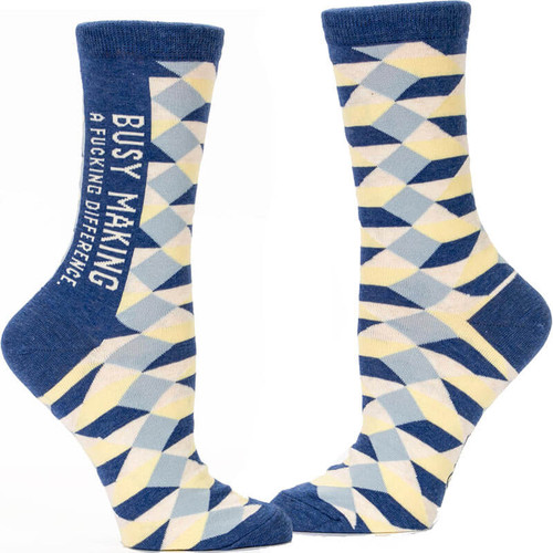 Making a Difference Crew Socks